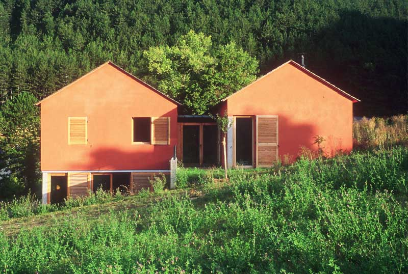 maison lanu jols architectes gard navecth architectes. Black Bedroom Furniture Sets. Home Design Ideas